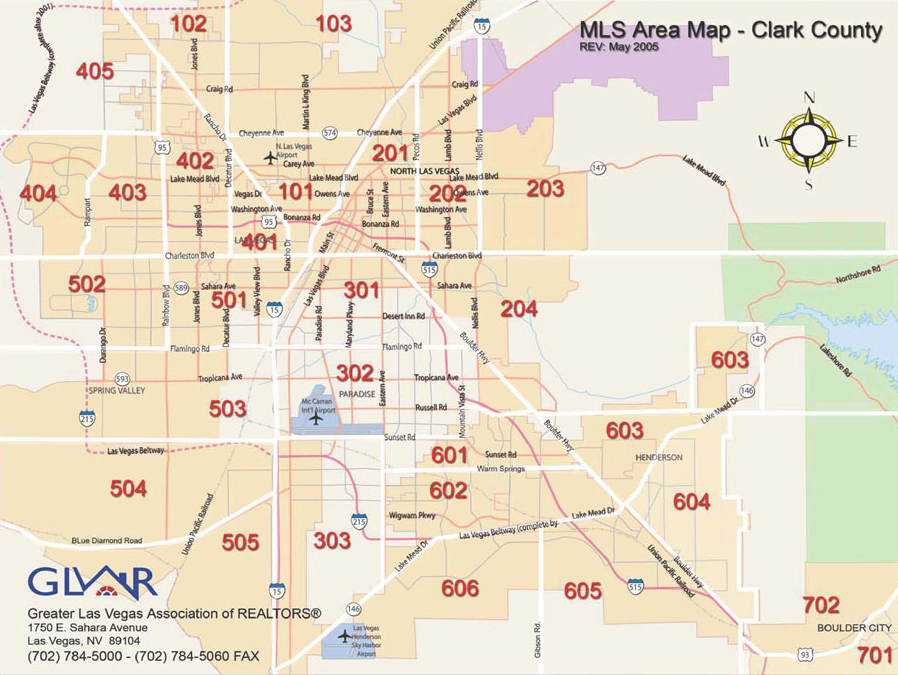 City Of North Las Vegas Choice Neighborhood Focus Area Map